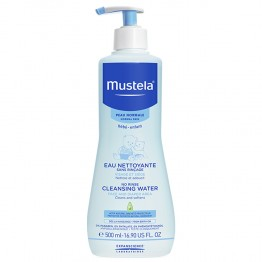 MUSTELA EAU NETTOYANTE SANS RINCAGE PEAUX NORMALES 500ML