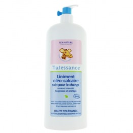 NATESSANCE BEBE LINIMENT OLEO CALCAIRE SOIN POUR LE CHANGE BIO 1L