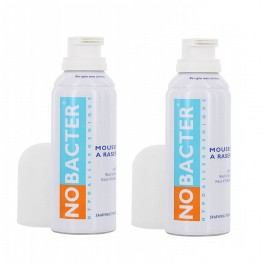 NOBACTER MOUSSE A RASER 2X150ML
