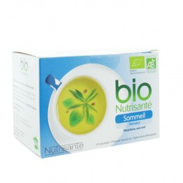 NUTRISANTE INFUSION SOMMEIL BIO 20 SACHETS