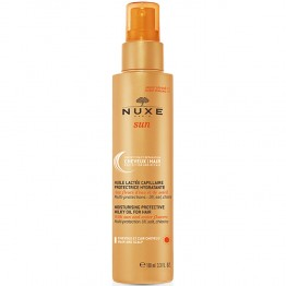 NUXE SUN HUILE LACTEE CAPILLAIRE PROTECTRICE HYDRATANTE CHEVEUX ET CUIR CHEVELU 100 ML