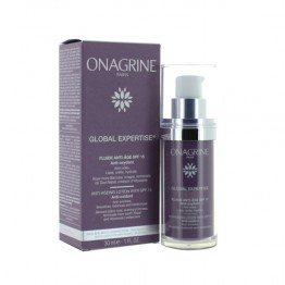 ONAGRINE GLOBAL EXPERTISE FLUIDE ANTI AGE SPF15 30ML
