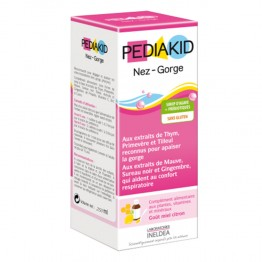 PEDIAKID SIROP NEZ-GORGE 250ML