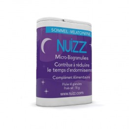 PHYTORESEARCH NUIZZ SOMMEIL MELATONINE MICRO BIOGRANULES X60