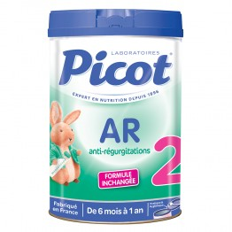 PICOT AR 2 ANTI REGURGITATIONS DE 6 MOIS A 1 AN 900G