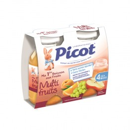 PICOT MA 1ERE BOISSON AUX FRUITS MULTIFRUITS 2X130ML