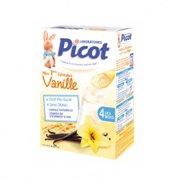 PICOT CEREALES INSTANTANEES VANILLE 200G