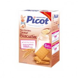 PICOT CEREALES SAVEUR BISCUITEE 6MOIS 400G