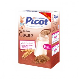 PICOT CEREALE 6 MOIS CACAO 400G