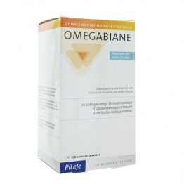 PILEJE OMEGABIANE POISSONS DES MERS FROIDES 100 CAPSULES
