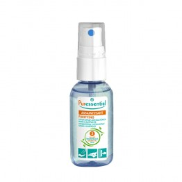 PURESSENTIEL LOTION SPRAY ANTIBACTERIENS MAINS ET SURFACES 3 HE 25ML