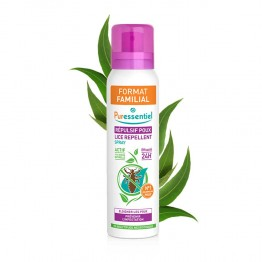 PURESSENTIEL SPRAY REPULSIF POUX FORMAT FAMILIAL 200ML