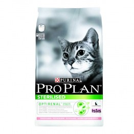 PURINA PROPLAN STERILISED CHAT CROQUETTES SAUMON 3KG