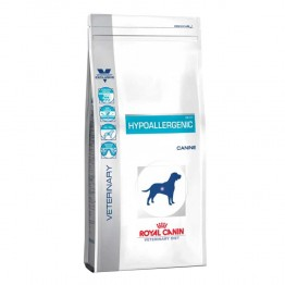 ROYAL CANIN VETERINARY HYPOALLERGENIC CANINE DR21 CHIEN CROQUETTES POULET 2KG