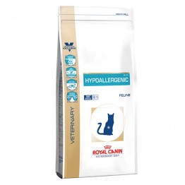 ROYAL CANIN VETERINARY HYPOALLERGENIC FELINE DR25 CHAT CROQUETTES VOLAILLE 2.5KG