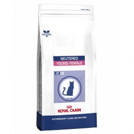 ROYAL CANIN YOUNG FEMALE NEUTERED CHATTES STERILISEES CROQUETTES VOLAILLE 10KG