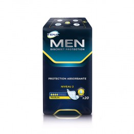 TENA MEN DISCREET PROTECTION ABSORBANTE MEDIUM NIVEAU 2 x20