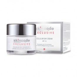 SKINCODE CREME CELLULAIRE JOUR SPF15 50ML
