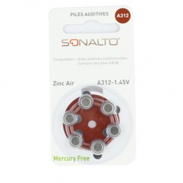 SONALTO PACK 6 PILES A312