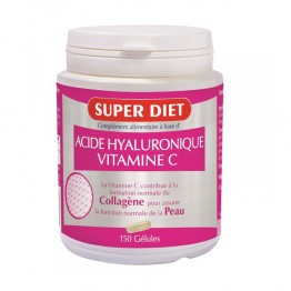 SUPERDIET ACIDE HYALURONIQUE + VITAMINE C 150 GELULES