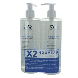 SVR PHYSIOPURE EAU MICELLAIRE 2x400 ML