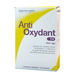 SYNERGIA ANTI OXYDANT F4 60 COMPRIMES