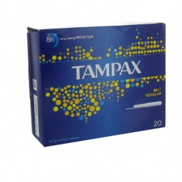 TAMPAX REGULAR TAMPONS AVEC APPLICATEUR X20