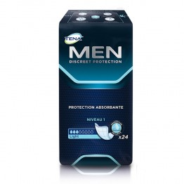TENA MEN DISCREET PROTECTION ABSORBANTE LIGHT NIVEAU 1 X24