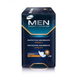 TENA MEN DISCREET PROTECTION ABSORBANTE SUPER NIVEAU 3 x16