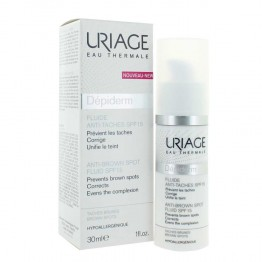 URIAGE DEPIDERM FLUIDE ANTI-TACHES SPF15 30ML