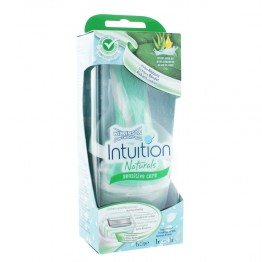 WILKINSON SWORD INTUITION NATURALS SENSITIVE CARE RASOIR 4 LAMES
