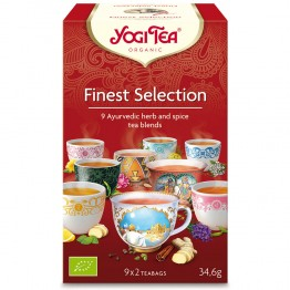 YOGI TEA FINEST SELECTION 9X2 SACHETS