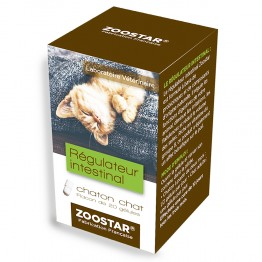 ZOOSTAR REGULATEUR INTESTINAL POUR CHATON ET CHAT 20 GELULES