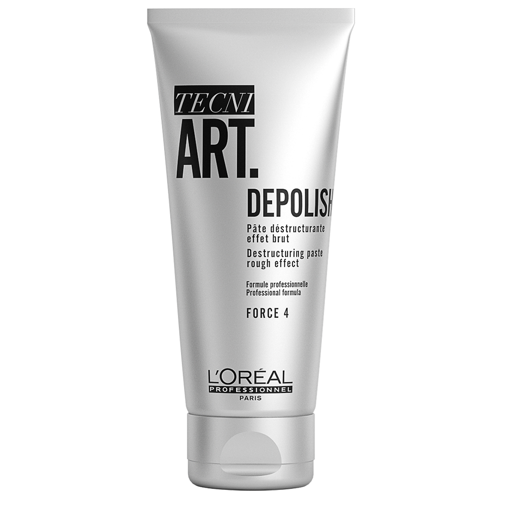 Tecni Art Depolish Pate Destructurante Effet Brut Force 4 100ml L'Oreal Professionnel